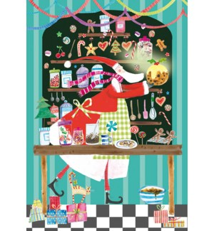 ADVENT CARD-Santas Candy Store|Real and Exciting