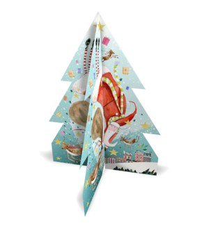 ADVENT-3D Flying Santa|Real and Exciting