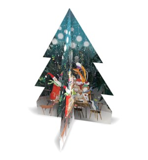 ADVENT-3D Woodland Feast|Real and Exciting