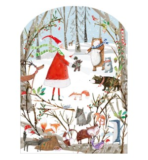 ADVENT-A Woodland Christmas|Real and Exciting