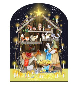 ADVENT-Nativity Animals|Real and Exciting