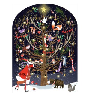 ADVENT-Woodland Tree|Real and Exciting