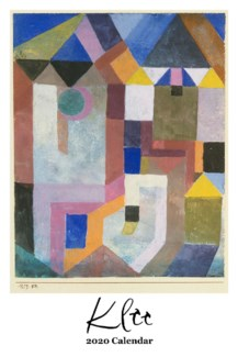 Paul Klee  Calendar 12.5x19 Retrospect