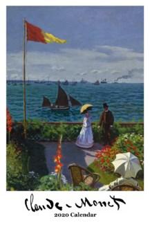 Claude Monet  wall Calendar 12.5x19 Retrospect