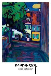 Kandinsky wall Calendar 12.5x19 Retrospect