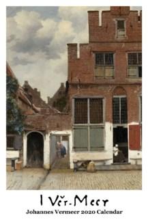 Johannes Vermeer   WallCalendar 12.5x19 Retrospect