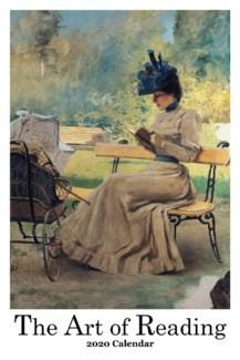 The Art Of Reading Calendar 12.5x19 Retrospect