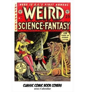 CALENDAR - Classic Comic Book Covers|Retrospect