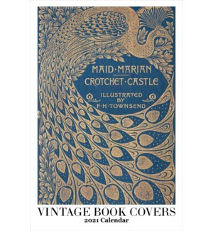CALENDAR - Vintage Book Covers|Retrospect