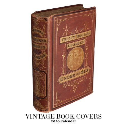Vintage Book Covers Calendar 12.5x19|Retrospect