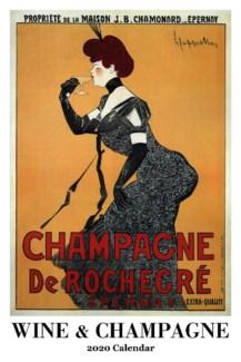 Wine and Champagne Calendar 12.5x19 Retrospect