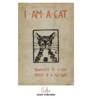 The Art of Cats Calendar 12.5x19 Retrospect