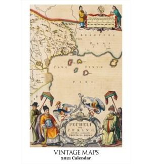 CALENDAR - Vintage Maps|Retrospect