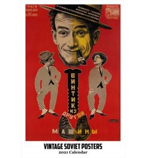 CALENDAR - Vintage Soviet Posters|Retrospect