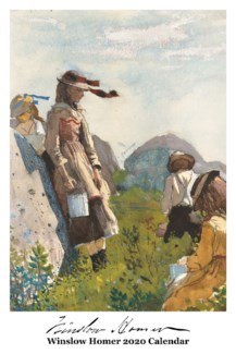 Winslow Homer Calender  12.5x19 Retrospect