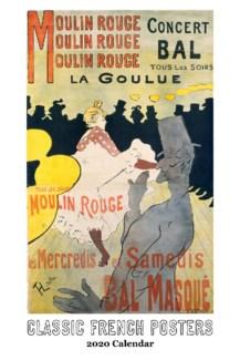 Classic French Posters Calendar 12.5x19 Retrospect