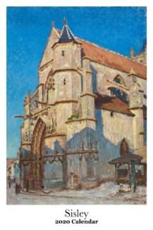 Alfred Sisley Calendar 12.5x19 Retrospect