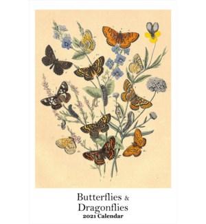 CALENDAR - Butterflies And Dragonflies|Retrospect
