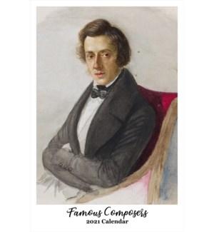 CALENDAR - Famous Composers|Retrospect