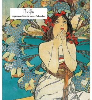Alphonse Mucha Desk Calendar 6.25x5.5|Retrospect