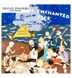 Travel Posters Square 12x12 Retrospect