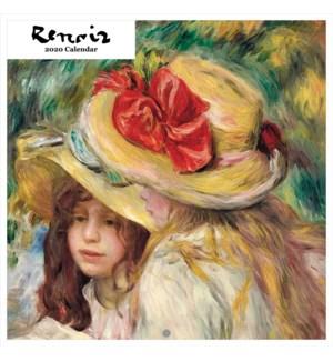 Pierre Auguste Renoir Square Calendar 12x12 Retrospect