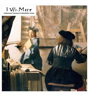 Johannes Vermeer Square Calendar 12x12 Retrospect