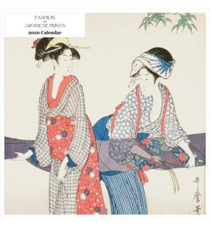 Fashion In Japanese Prints Square Calend 12x12|Retrospect