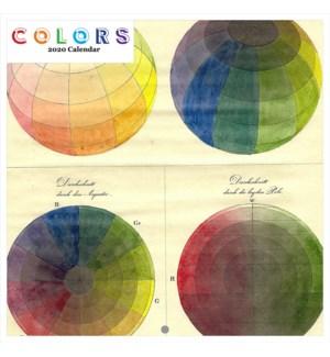 Colors Square Calendar 12x12|Retrospect