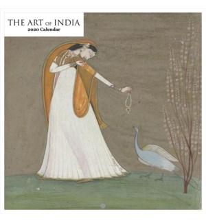 The Art of India Square Calendar 12x12|Retrospect