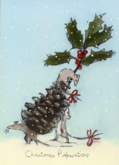 Christmas Preparations Two Bad Mice
