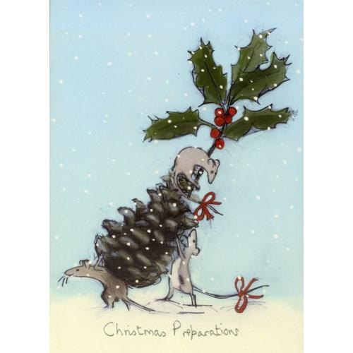 Christmas Preparations|Two Bad Mice
