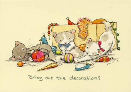 Bring Out the Decorations Two Bad Mice