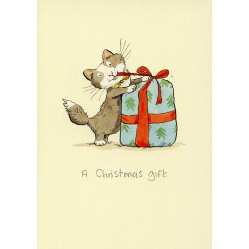 A Christmas Gift Two Bad Mice