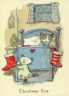 Christmas Eve Two Bad Mice