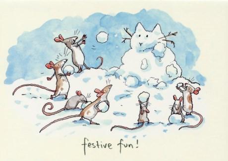 Festive Fun Two Bad Mice