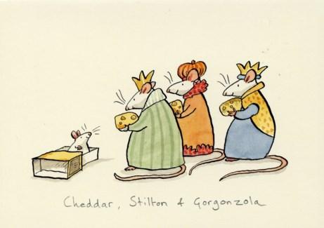 Cheddar, Stilton & Gorgonzola Two Bad Mice
