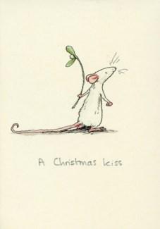 A Christmas Kiss Two Bad Mice
