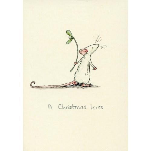 A Christmas Kiss|Two Bad Mice