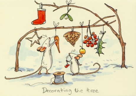 Decorating the Tree Two Bad Mice