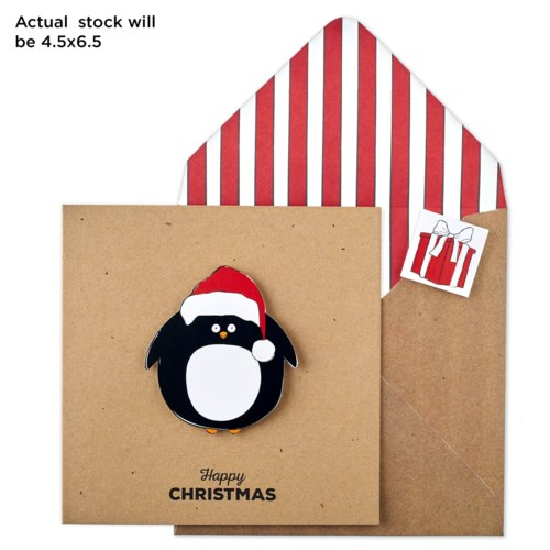 Christmas Penguin |Tache