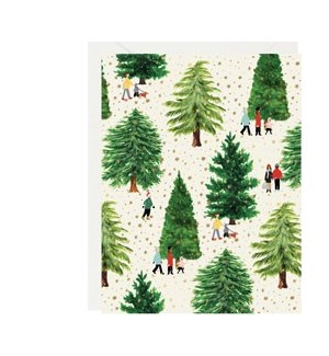 Christmas Tree Farm Foil|Z