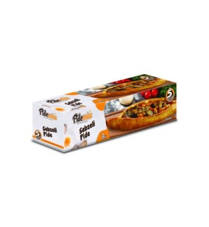 PIDE W/VEGETABLES  (125GRX3PCS)x12(S.PROMO)