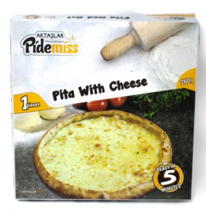 ROUND PIDE W/CHEESE  260GRx12