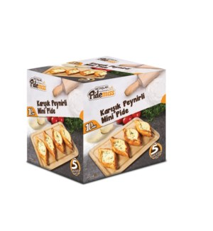 MINI PIDE W/CHEESE & SPINACH  (40GRX10PCS)x12(S.PROMO)