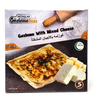 GOZLEME WITH MIXED CHEESE (150GRx2)X12