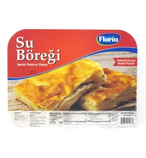 SU BOREGI-SPECIAL PASTRY WITH CHEESE 800GRX10