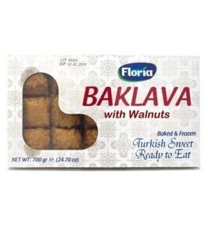 BAKLAVA W/WALNUT 700GRX18