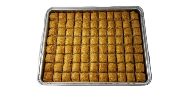 "BAKLAVA W/WALNUT 8.80LBS (4KG) ""Holiday Promo"""