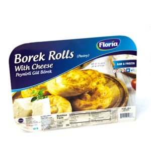 BOREK PASTRY ROLLS WITH  CHEESE 400GRx10